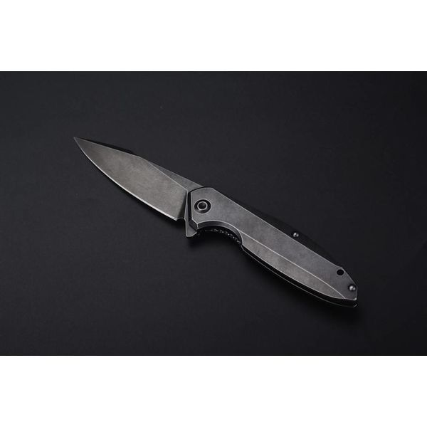 Ruike Knives P128-SF Zakmes / Tactisch Mes Stonewashed Black