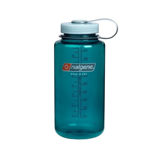 Nalgene Wide Mouth Top Bottle Drinkfles 1 Liter Trout Green