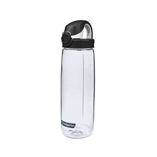 Nalgene On The Fly Bottle Drinkfles 750ml Clear Black