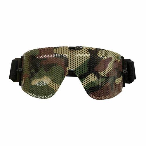 LenSkin Woodland Camo Folie voor Goggles