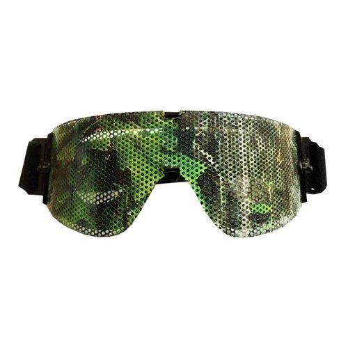 LenSkin Leafs Camo Folie voor Goggles