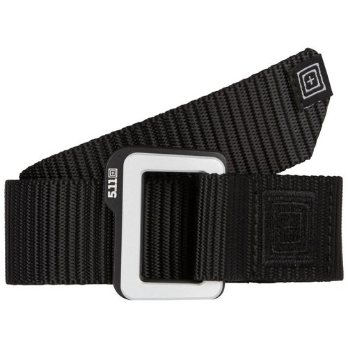 5.11 Tactical Traverse Double Buckle Belt Zwart