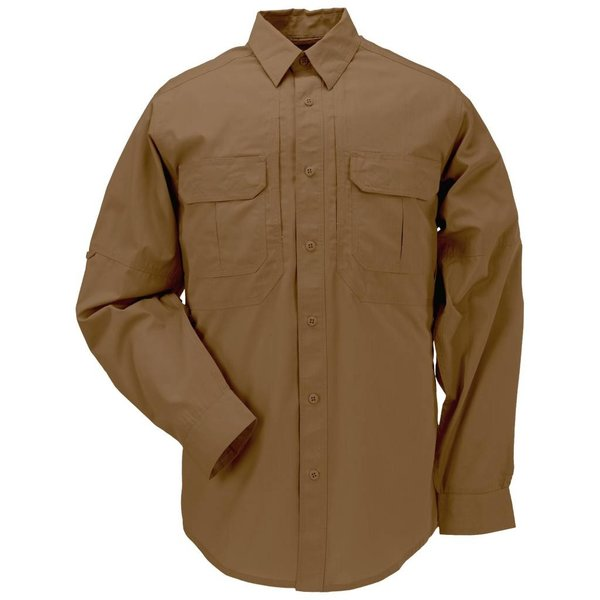 5.11 Tactical TacLite Pro Shirt LS Battle Brown