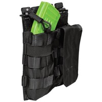5.11 Tactical Double AK Bungee/Cover Pouch Zwart