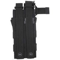 5.11 Tactical Double MP5 Bungee/Cover Pouch Zwart