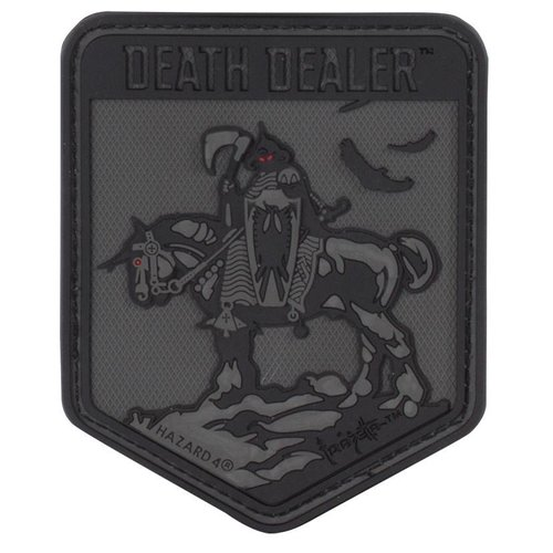 Hazard 4 Hazard4 Death Dealer PVC Patch Zwart
