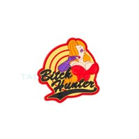 Jackets to Go Bitch Hunter PVC Patch Red