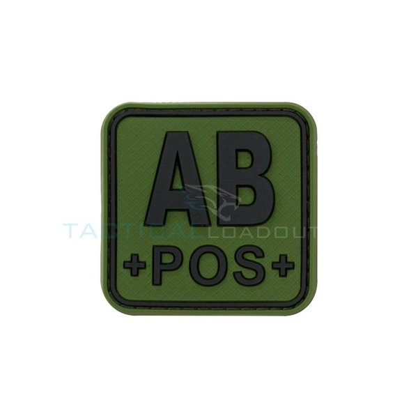 Jackets to Go AB-POS PVC Patch Olive