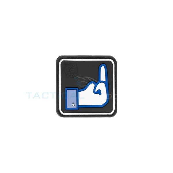 Jackets to Go JTG Fuck FaceBook PVC Patch
