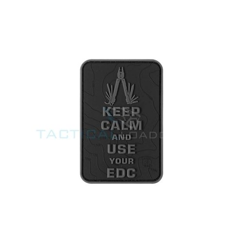 Jackets to Go Keep Calm EDC PVC Patch Blackops