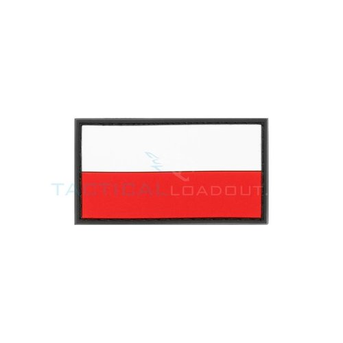 Jackets to Go Small Rubber Poolse Vlag Patch