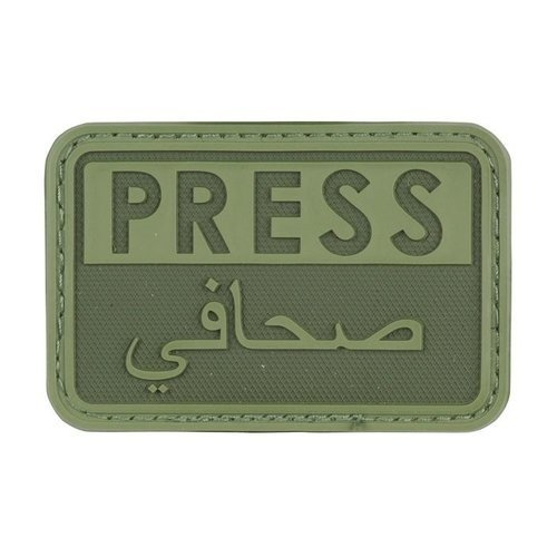 Hazard 4 Press PVC Patch Olive