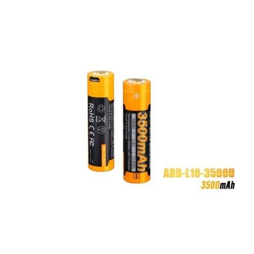 Fenix Fenix ARB-L18 USB (18650) oplaadbare 3.7V 3500mAh accu