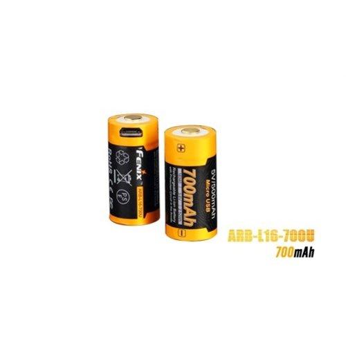Fenix Lights Fenix ARB-L16 USB (16340) oplaadbare 3.7V 700mAh accu