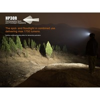 Fenix HP30R Hoofdlamp (1750 lumen) incl Accu