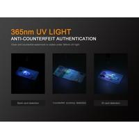 Fenix LD02 v2.0 Zaklamp (70 lumen) + UV licht