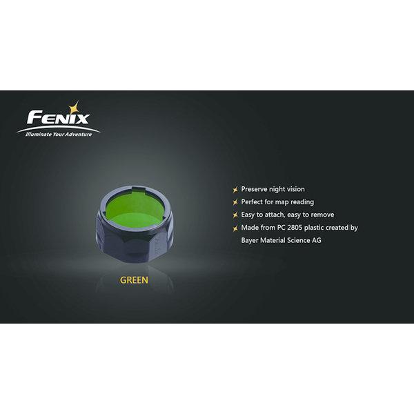 Fenix AOF-S+ Kleurenfilter 21.5 tot 25.4mm Groen (Small)