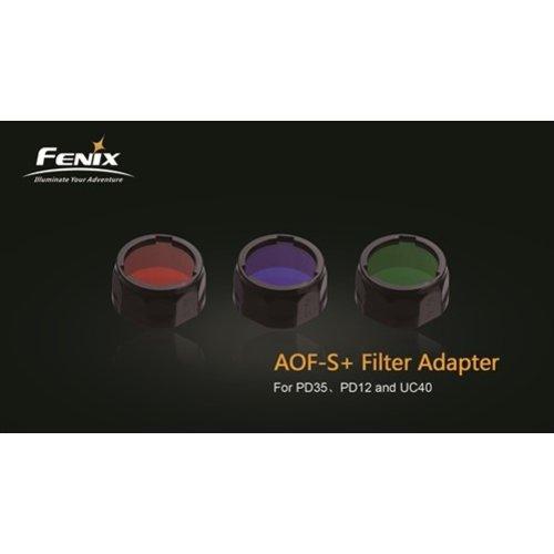 Fenix AOF-S+ Kleurenfilter 21.5 tot 25.4mm Rood (Small)
