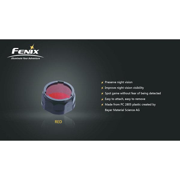 Fenix Kleurenfilter 21.5 tot 25.4mm Rood (Small)