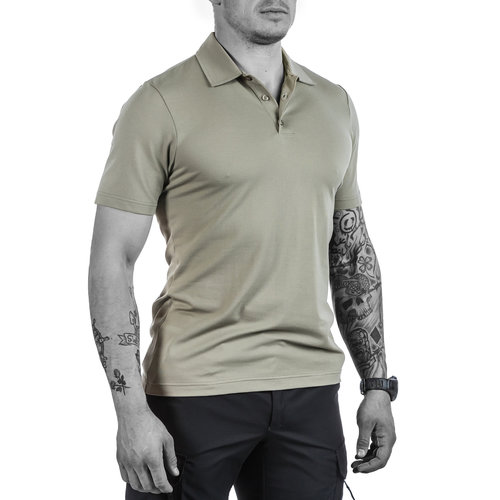 UF PRO Urban Polo Shirt Desert Grey