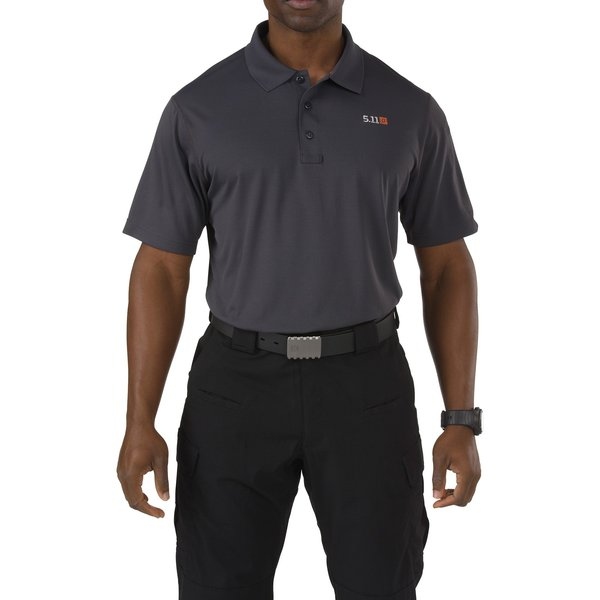 5.11 Tactical Pinnacale Short Sleeve Polo Charcoal 2XL - SALE