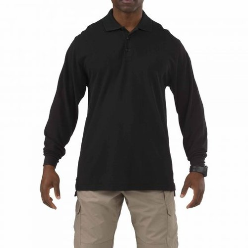 5.11 Tactical Professional Polo Long Sleeve Zwart