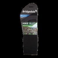 Bridgedale HIKE Midweight Merino Performance Sokken Zwart