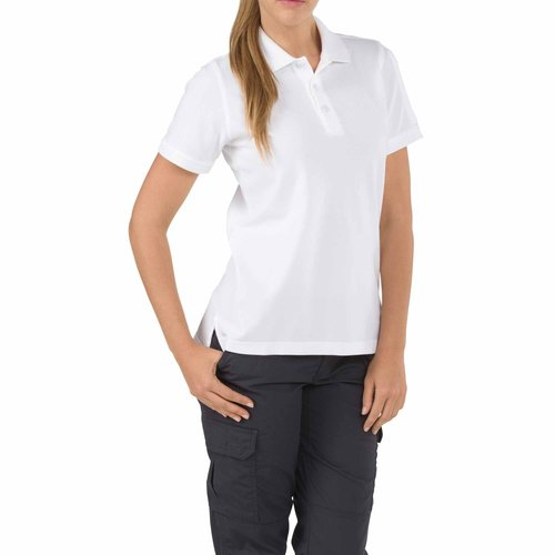 5.11 Tactical Womens Professional Polo White