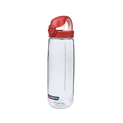 Nalgene On The Fly Bottle Drinkfles 750ml Clear Red
