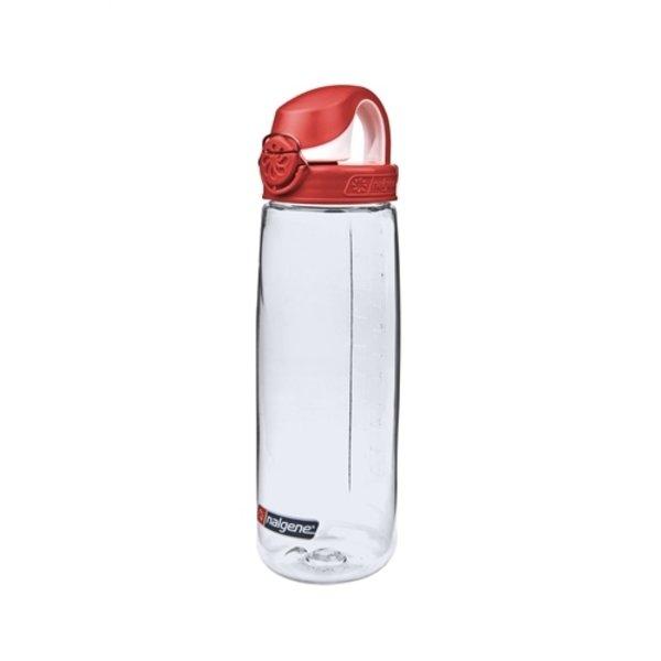 Nalgene On The Fly Bottle Drinkfles 750ml Clear Red