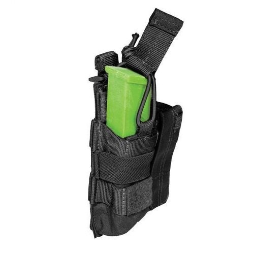 5.11 Tactical Double Pistol Bungee/Cover Pouch Zwart