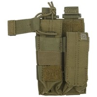 5.11 Tactical Double Pistol Bungee/Cover Pouch Sandstone