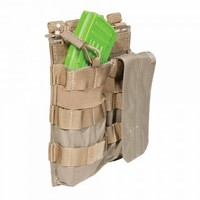 5.11 Tactical Double AK Bungee/Cover Pouch Sandstone