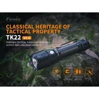 Fenix TK22 V2.0 Zaklamp/Taclight (1600 lumen)
