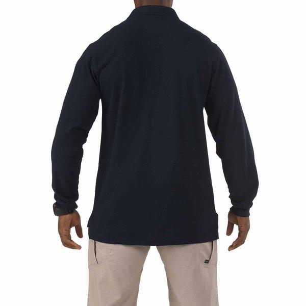 5.11 Tactical Utility Long Sleeve Polo Dark Navy