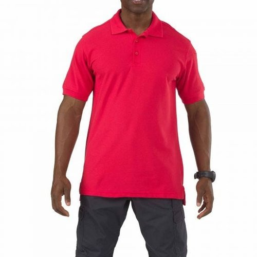 5.11 Tactical Utility Polo Range Red