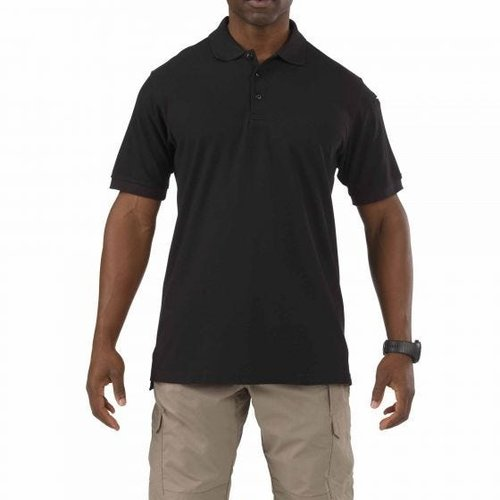 5.11 Tactical Utility Polo Black