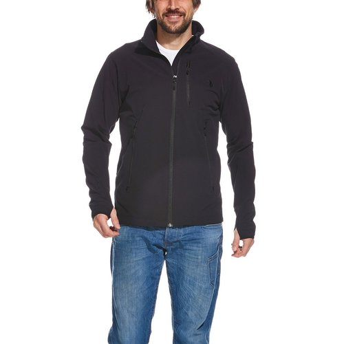 Tatonka Moss Mens Softshell Jacket Black
