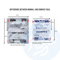 Hyfin Vent Compact Twin Pack Chest Seal
