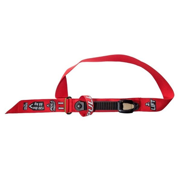Ratcheting Medical Tourniquet® (RMT) – WIDE 2″/50mm Red