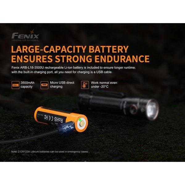 Fenix LD30-B Mini Zaklamp (1600 lumen) incl Accu