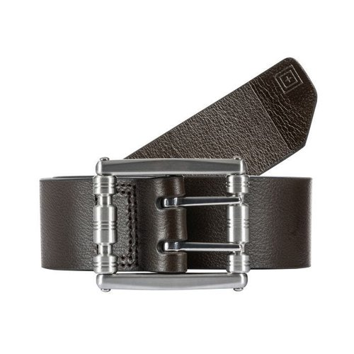 5.11 Tactical Stay Sharp Leather Belt Dark Brown