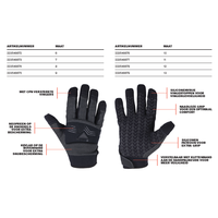 MoG - Masters of Gloves CPN Guide 6204 Gloves Black Grey