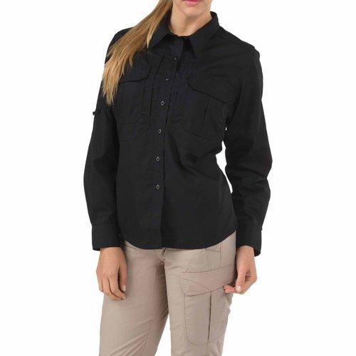 5.11 Tactical Women's Taclite Pro Shirt LS Black