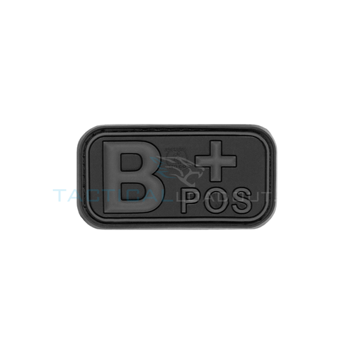 Jackets to Go B-Positive Blood Type PVC Patch Blackops
