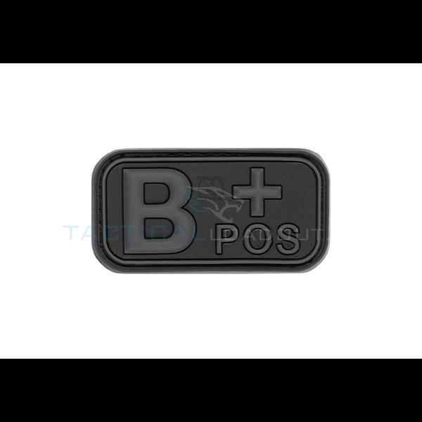 Jackets to Go B-Positive Blood Type PVC Patch Blackops