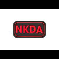 Jackets to Go NKDA PVC Patch Black Medic