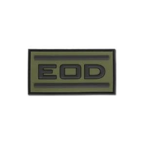 Jackets to Go EOD PVC Patch Forest