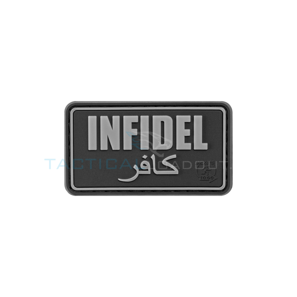 Jackets to Go Infidel PVC Patch SWAT