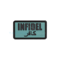 Jackets to Go Infidel PVC Patch Forest